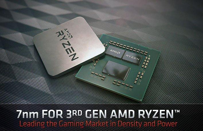 AMD 3rd Gen Ryzen architecture deep dive chip