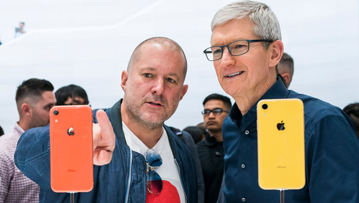 Jony Ive and Tim Cook