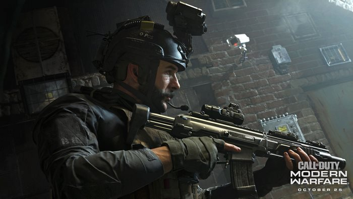 COD Modern Warfare Reveal screen shot player
