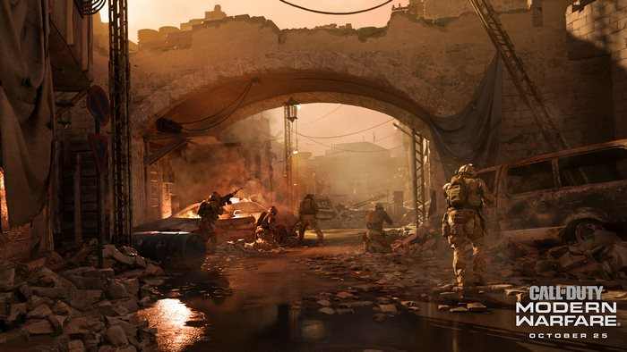 COD Modern Warfare Reveal screen shot unit