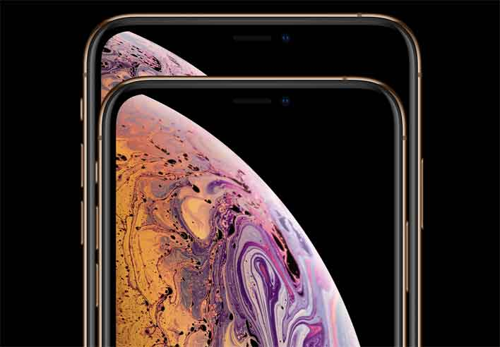 iphone xs stacked