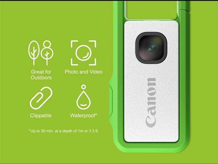 canon ivy rec green