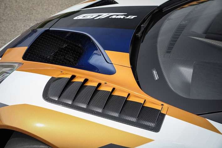 Ford GT MkII Hood