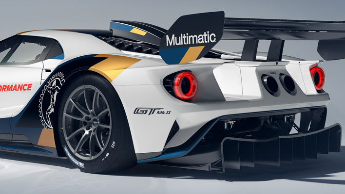 Ford GT MkII Rear