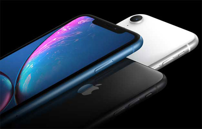 iphone xr blue black and white