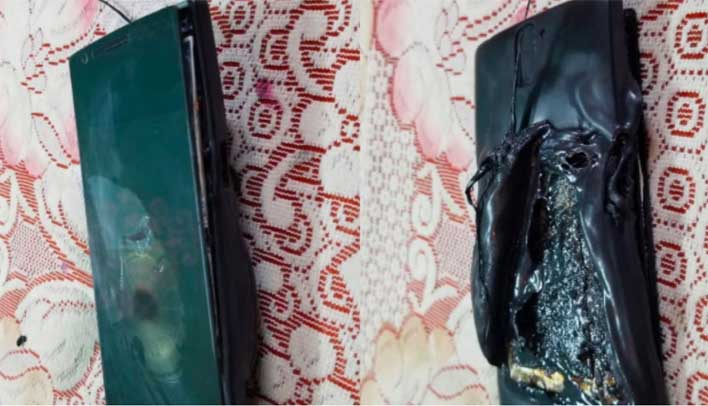 Unplugged, switched off OnePlus phone catches fire