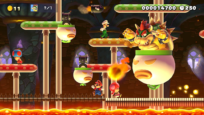 Super Mario Maker 2 Bowser