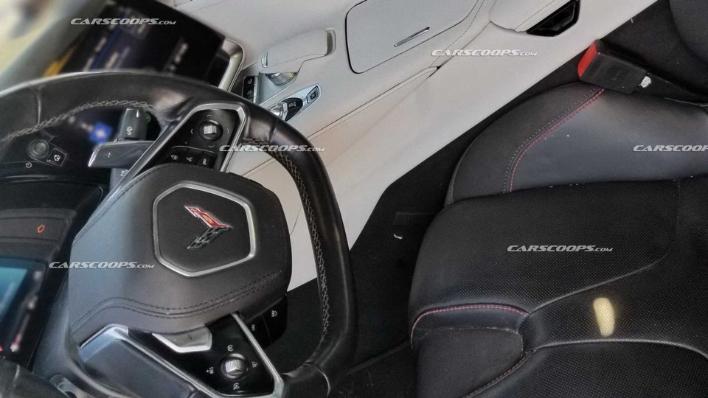 c8 corvette interior