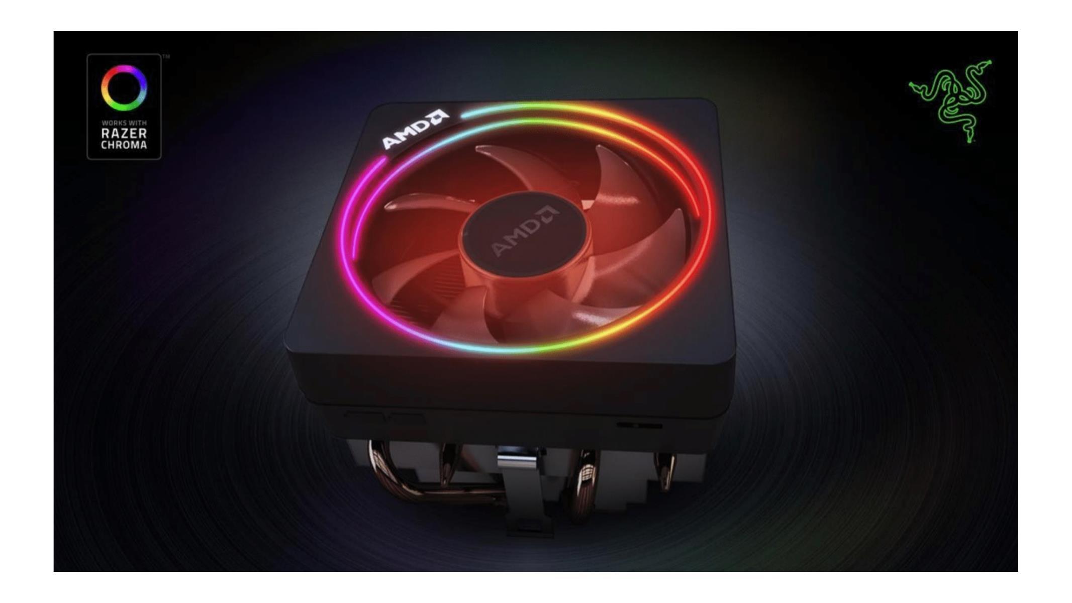 Razer Adds Chroma Support For AMD Ryzen 3000 Wraith Prism CPU