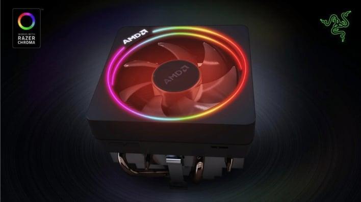 Razer Adds Chroma Support For AMD Ryzen 3000 Wraith Prism