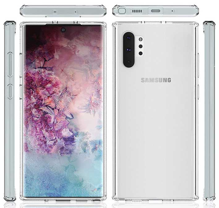galaxy note 10 all sides