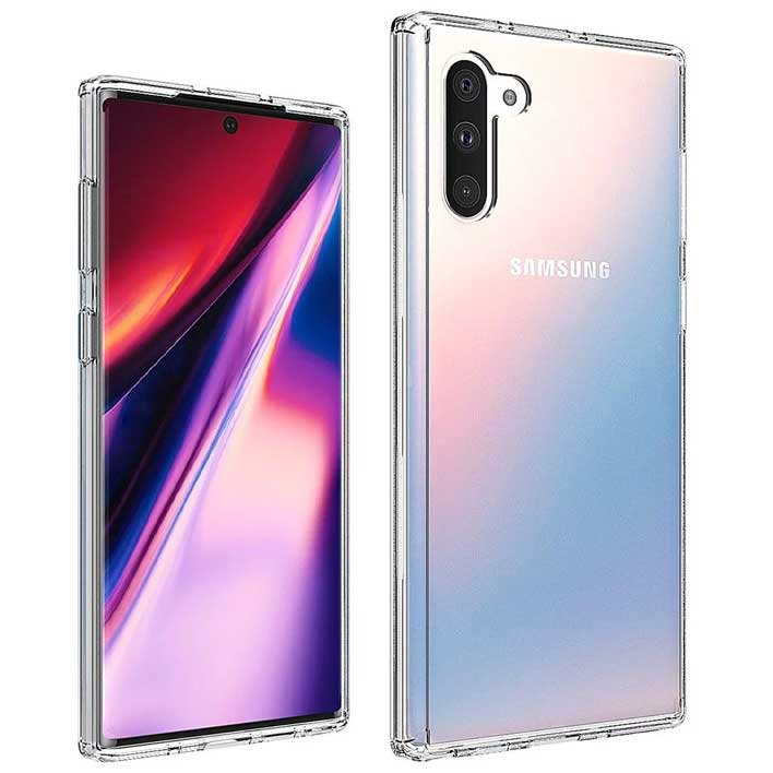 galaxy note 10 front back