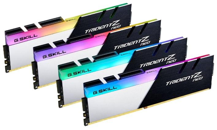 G Skill Trident Z Neo Memory Cranks Blistering DDR4-3600