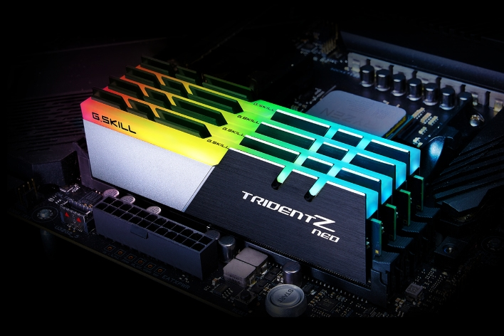 G Skill Trident Z Neo Memory Cranks Blistering DDR4-3600 Speeds For