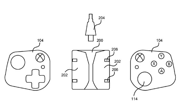 Microsoft Patents Project xCloud Controllers That Convert