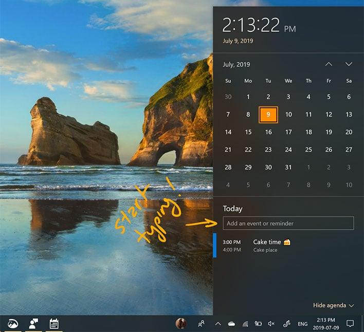 Windows 10 Events