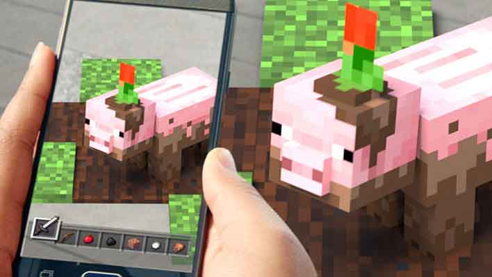 Minecraft Earth AR game closed beta arriving soon