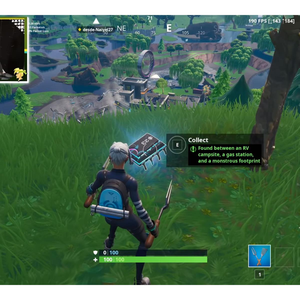 Here's Where To Find Fortnite's Fortbyte 23 To Help Unlock The