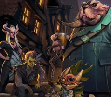 DOTA Underlords Free-to-Play Auto Chess Game Gets First Battle Pass