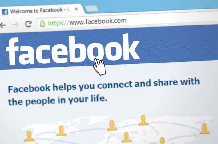 facebook webpage