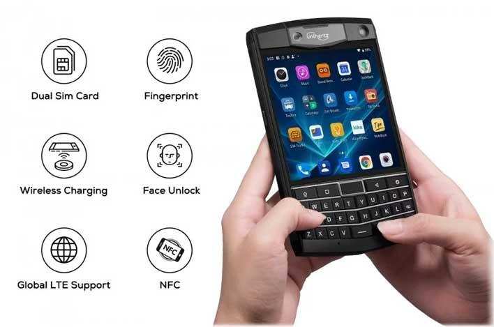 Unihertz Titan Is An Android-Fueled BlackBerry Passport