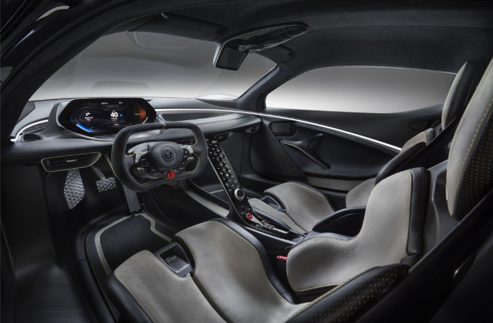 Lotus Evija Interior 02