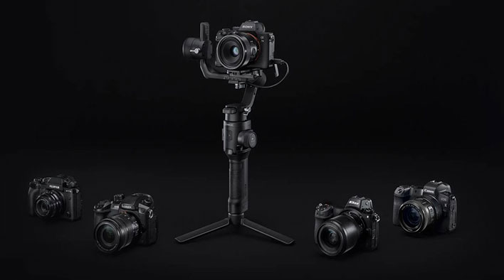 dji ronin sc stabilizer cameras