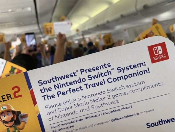 Southwest Airlines Passengers On This Lucky Flight All