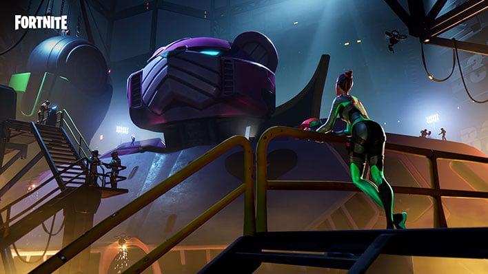 These Epic Fortnite Robots Vs Monsters Season 9 Showdown Highlights