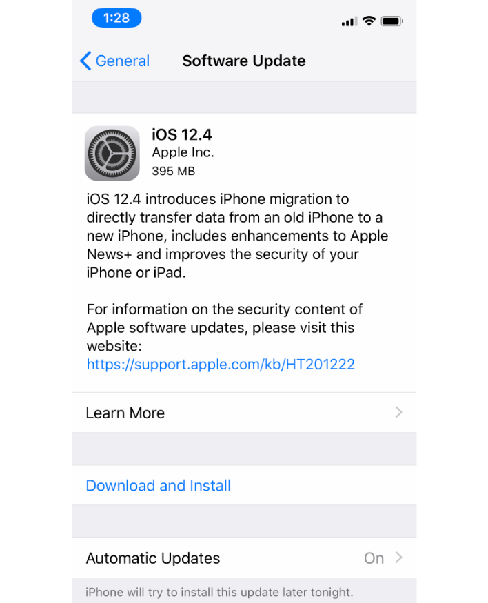 Apple Releases iOS 12 4 For iPhone And iPad With Direct Data