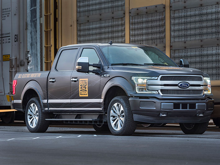 Ford All-Electric F-150 Pickup Truck