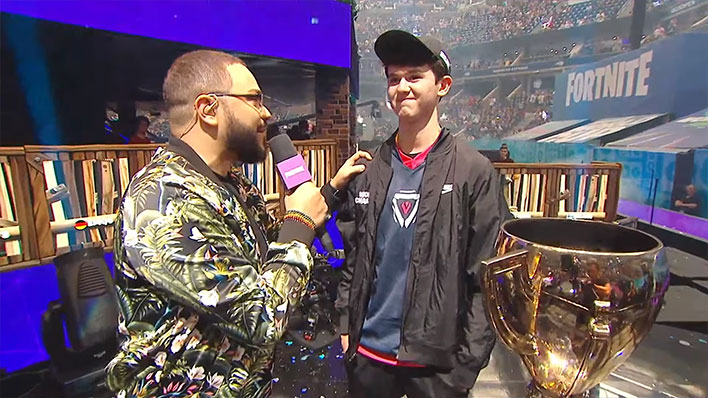 Fortnite World Cup Champ