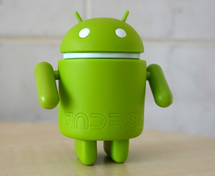 android robot green