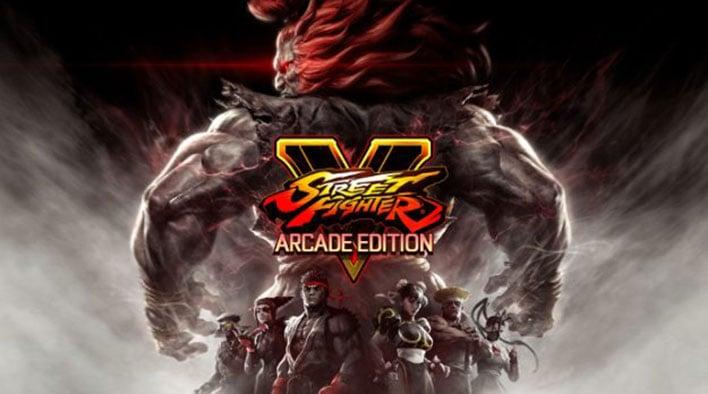 capcom street fighter arcade edition