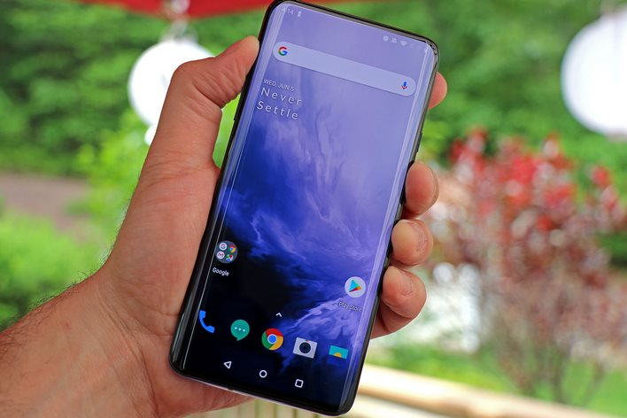 Alleged OnePlus 7T Pro Flagship Phone Spotted In Leaked