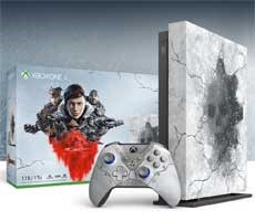 Xbox One X Gears 5 Limited Edition Console Bundle Hits Preorder With Cracked Ice Design
