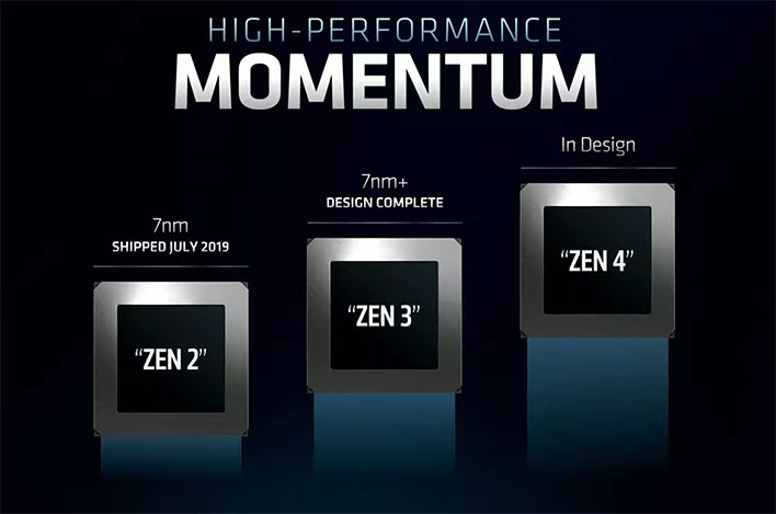 Relentless Amd Completes Zen 3 Design To Take On Intel In 2020 Zen 4 Is Next Hothardware