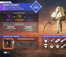 Apex Legends Devs Seem Sorry Not Sorry, Unprofessional In Iron Crown Money Grab Fiasco