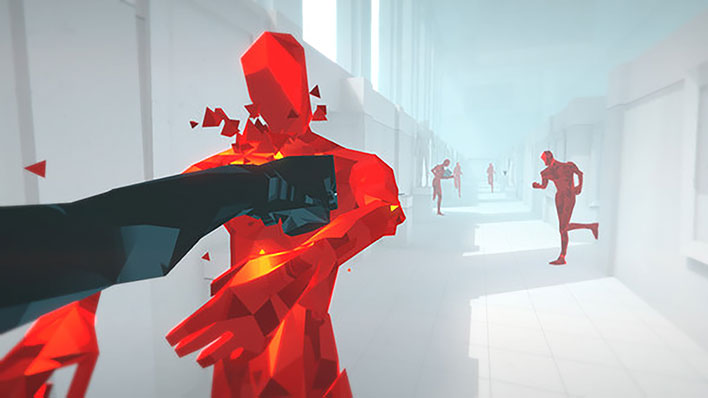 superhot gameplay