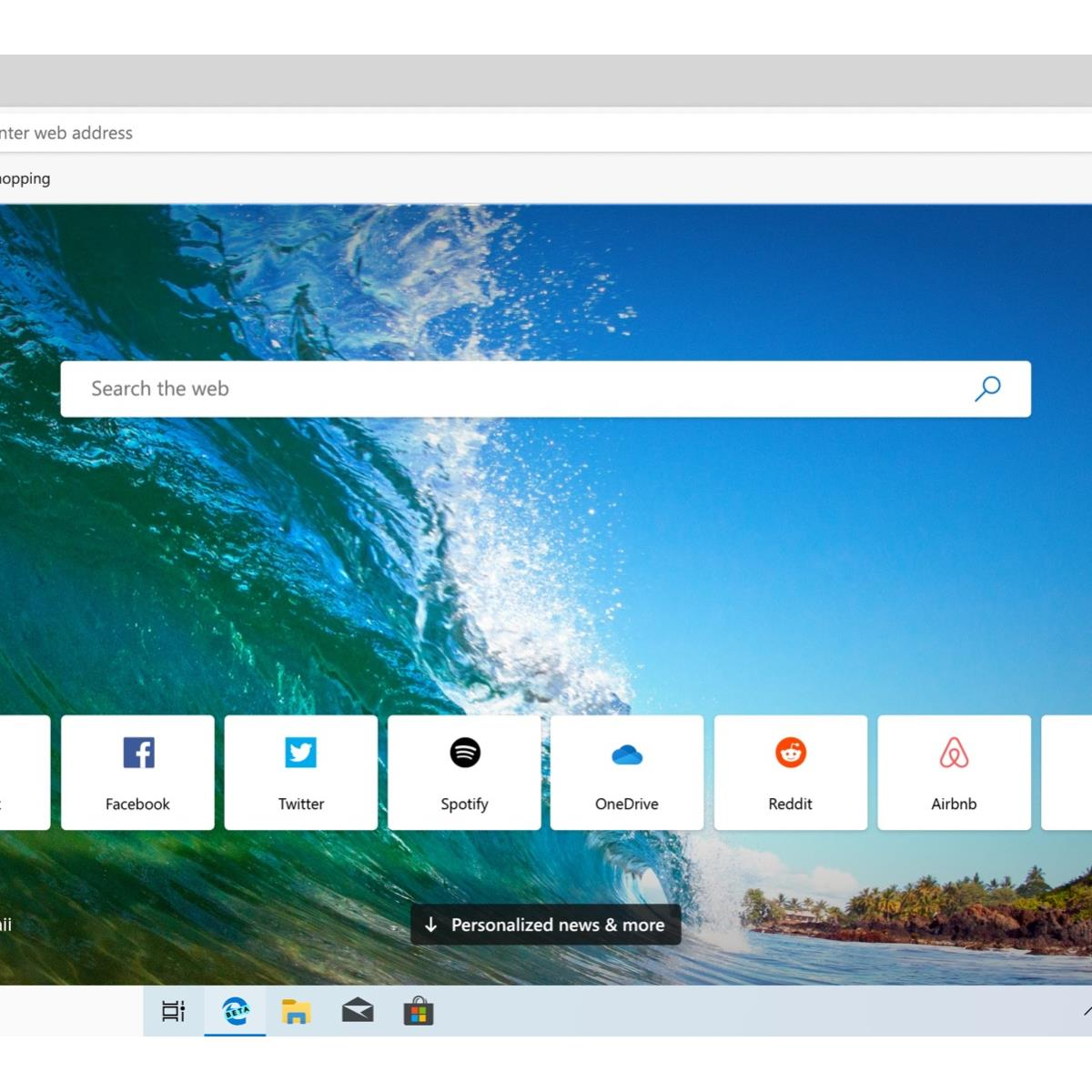 Chromium-Infused Microsoft Edge Browser Hits Beta Channel