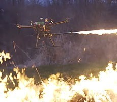 FAA Kindly Asks That You Not Attach Crispy Flamethrowers And Bombs To Your Personal Drones