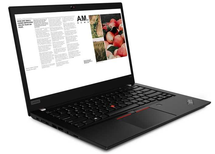 ThinkPad T490 left