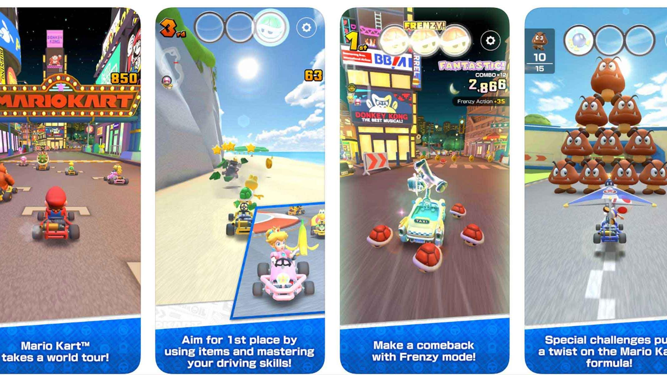 Mario Kart Tour Launch Date Set For September 25 On Android And
