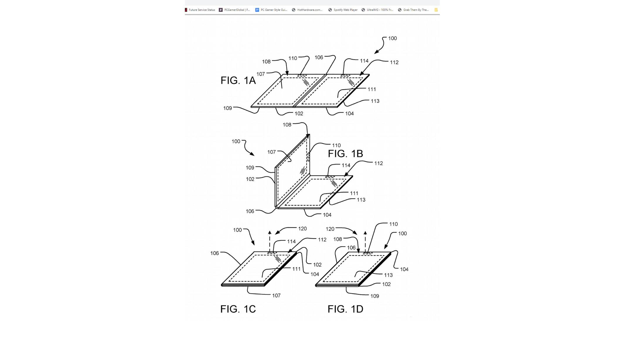 Is Microsoft's Folding Display Patent A Precursor To A Dual