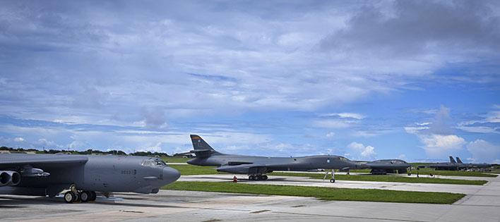 b 2 b 52 bombers usaf