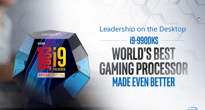 Intel Core i9-9900KS 5GHz Beast CPU Ships In October