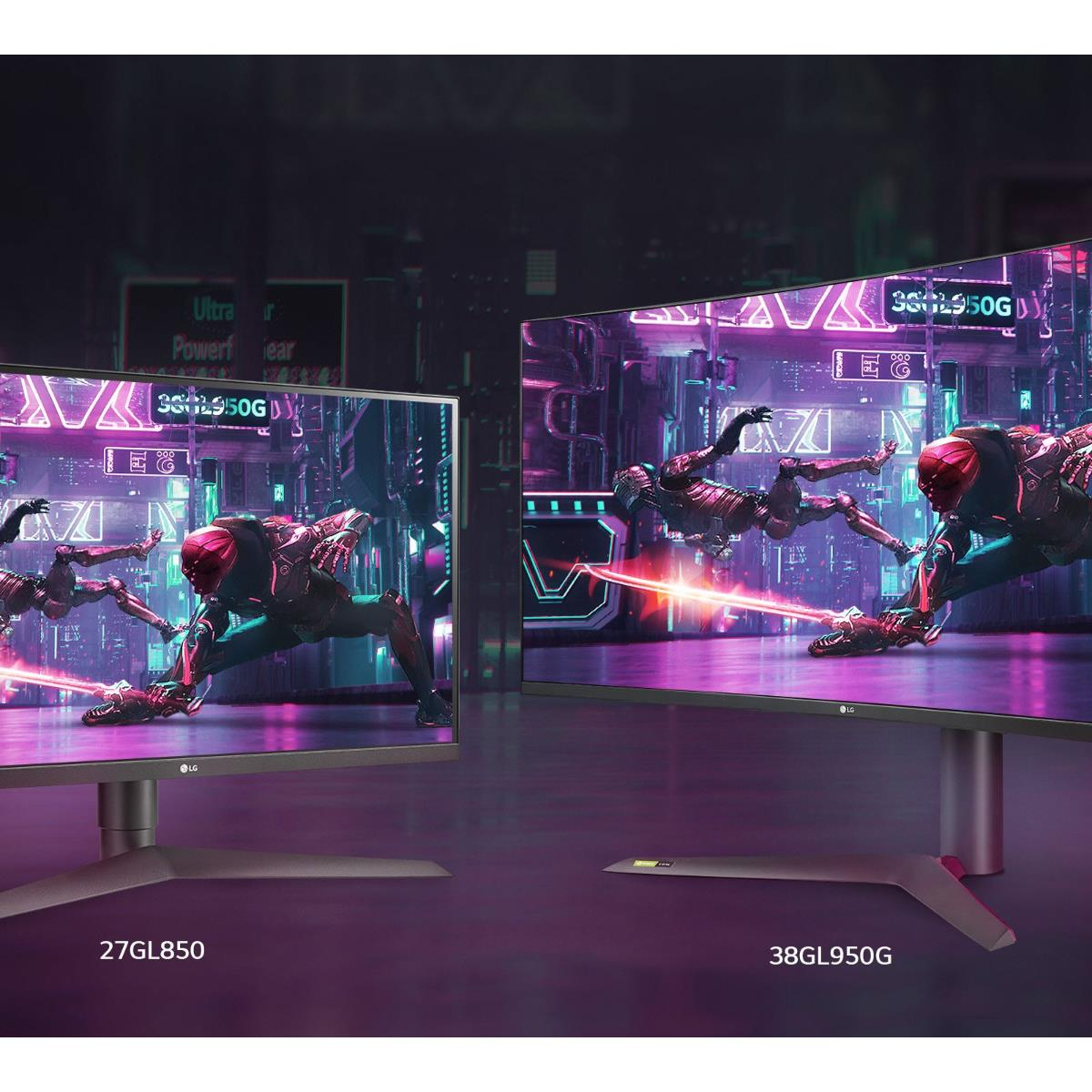 LG Expands UltraGear Display Family With 27 And 38-Inch