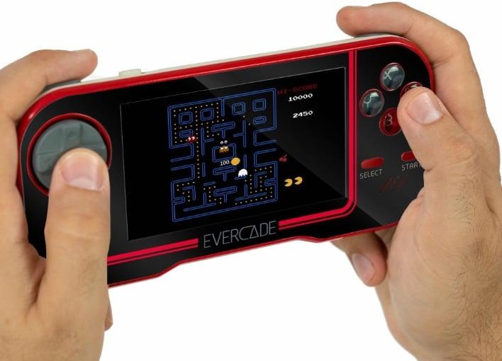 evercade console black