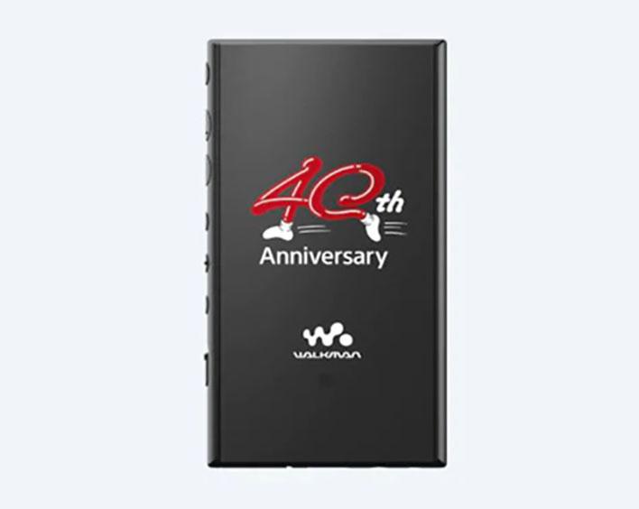 sony 40th anniversary walkman logo
