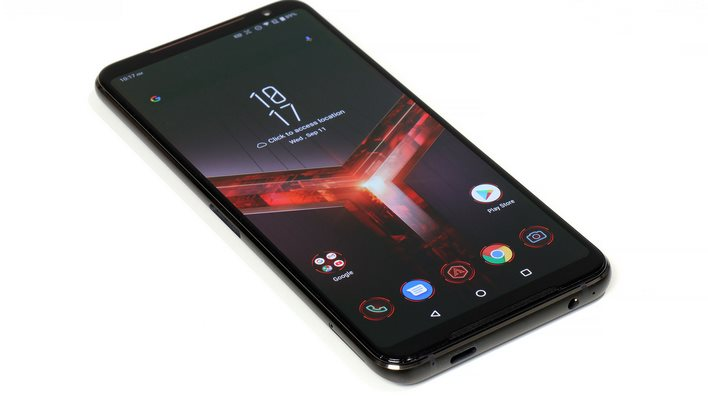 ASUS ROG Phone II Ultimate Front